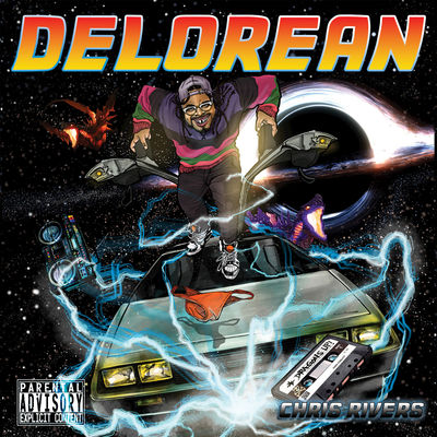 Chris Rivers - Delorean - Album Download, Itunes Cover, Official Cover, Album CD Cover Art, Tracklist