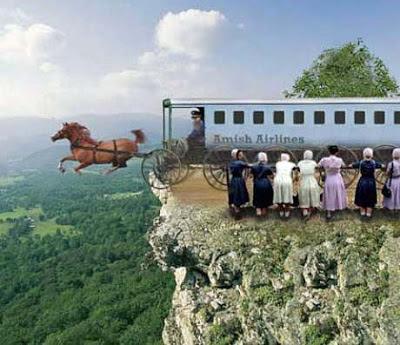 lustige Bilder Religion - Fliegende Pferde Airline