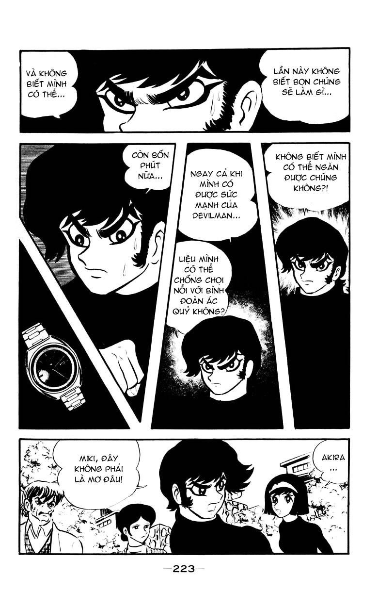 DevilMan chapter 16 trang 23