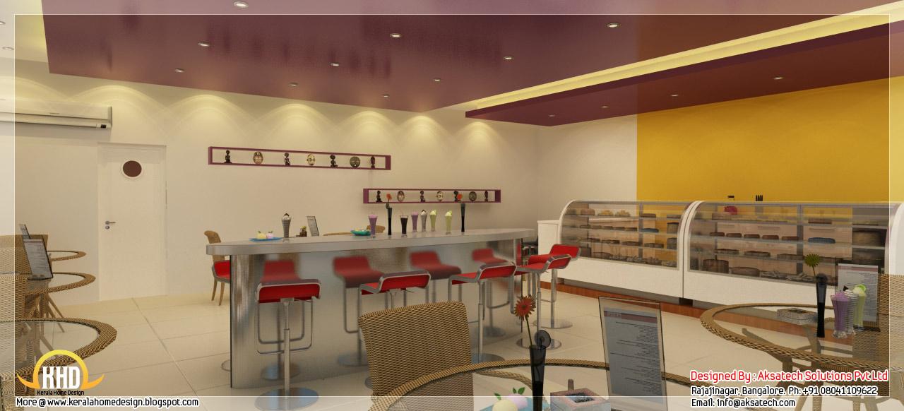 Interior design ideas for office and restaurants kerala