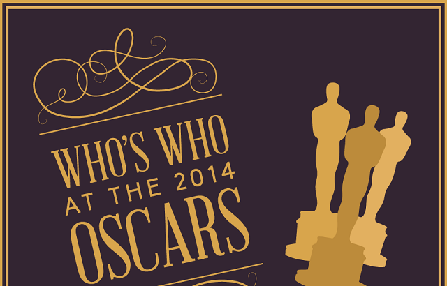 image: Who's Who at the 2014 Oscars