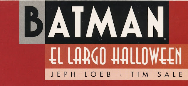 Batman - El largo halloween Portada