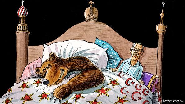 Η γοητεία του Πούτιν και η κατάρρευση της Τουρκίας