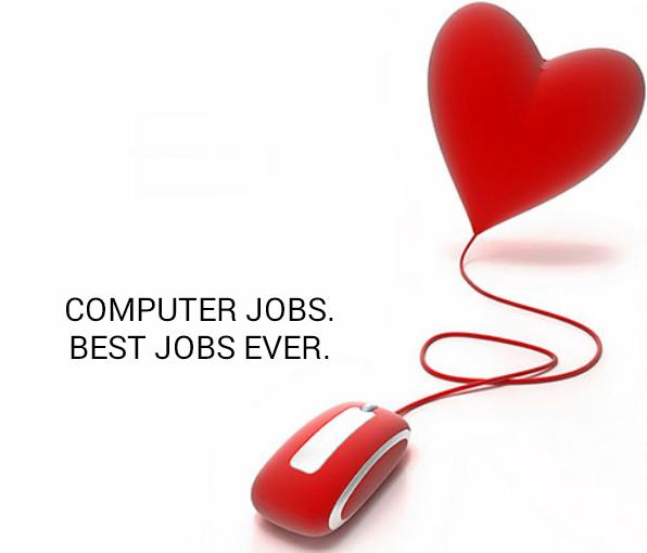 Computer jobs