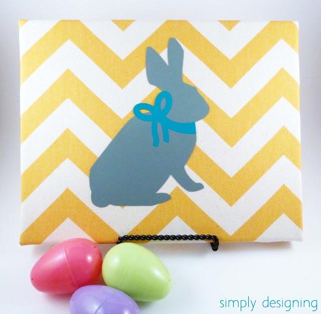 chevron bunny sign 04a Chevron Bunny Sign 14