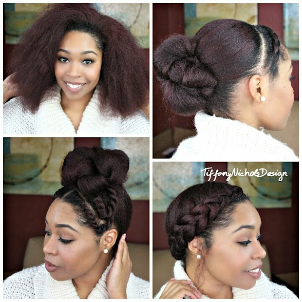 natural hair 3 quick styles