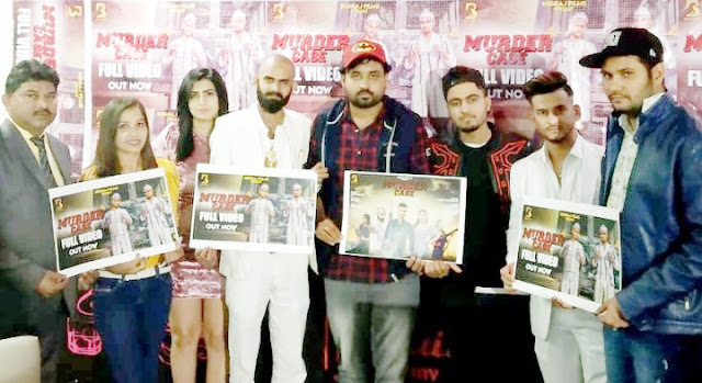 Beg Raj Films' new song Murder Case launches in Faridabad, star cast of musical album being present