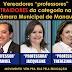 Movimento Social acusa os Vereadores Professores Samuel, Jacqueline(PHS) e Therezinha Ruiz (DEM) de traidores da Educação Municipal