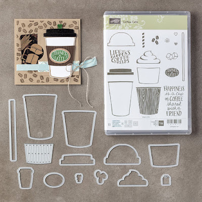 Stampin' Up! UK Independent  Demonstrator Susan Simpson, Craftyduckydoodah!, Coffee Cafe, July  2017 Customer Gift, Supplies available 24/7 from my online store,