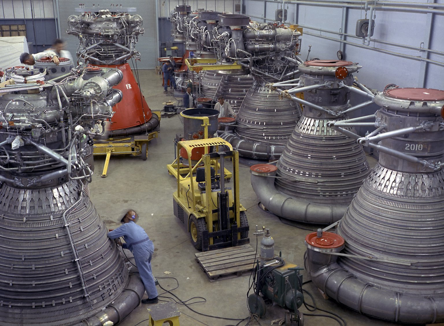 Saturn 5 Rocket Engine