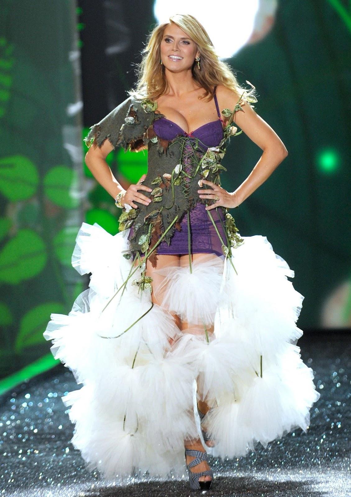 Top Life Insurance Companies >> Heidi Klum Victorias Secret Fashion   Fashion Naturally
