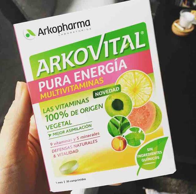 Arkovital, Vitaminas Vegetales de Arkopharma