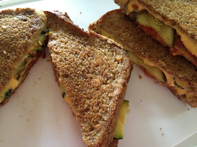 Not Your Usual Grilled Cheese No. 5: With Pickles & Zucchini