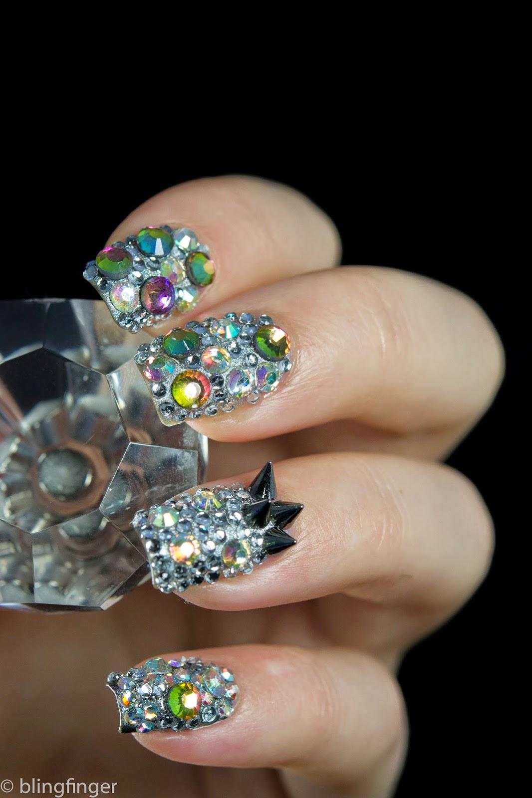 Crystal Nails Fényzselé Images