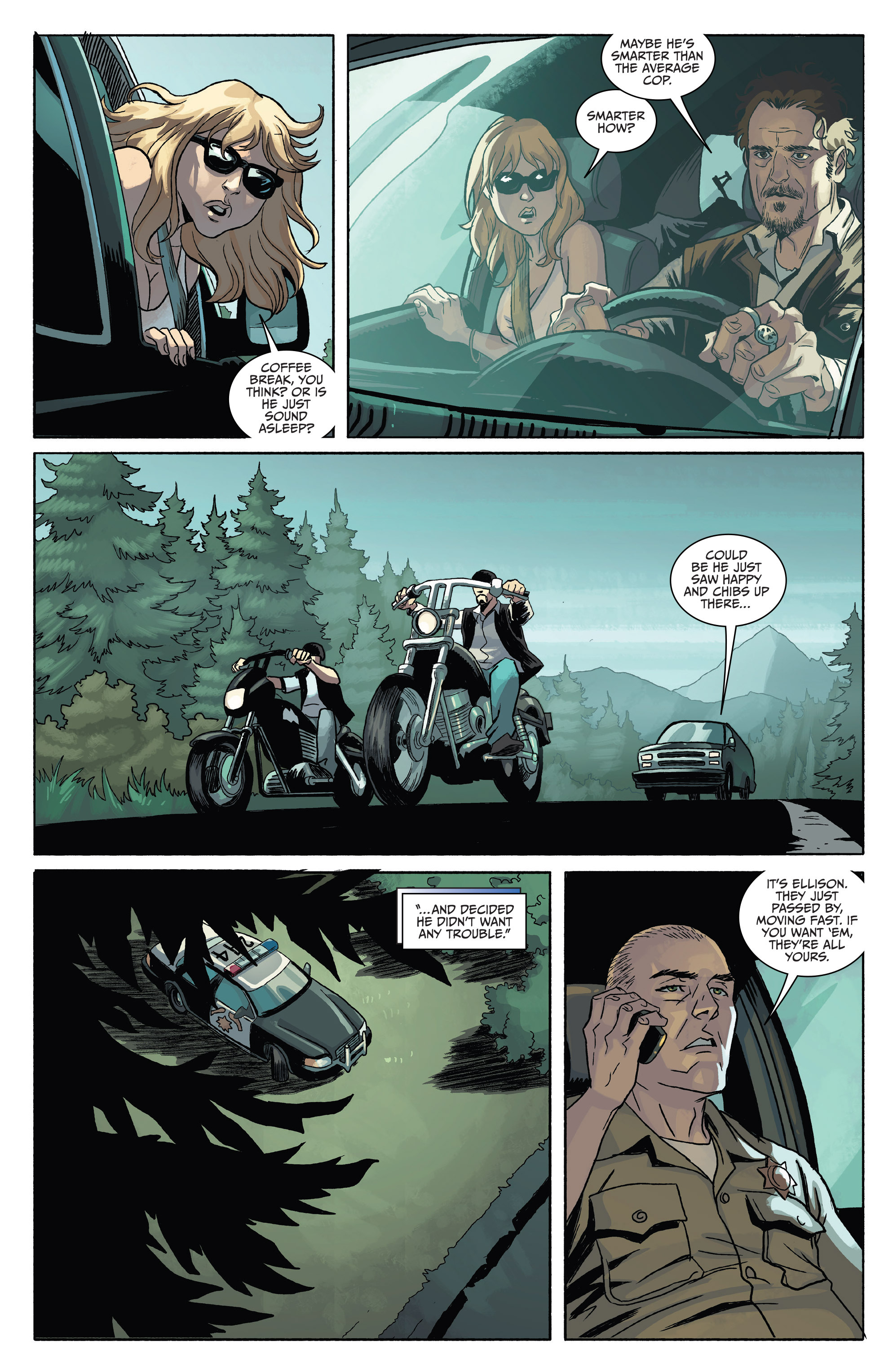 Read online Sons of Anarchy comic -  Issue #4 - 19