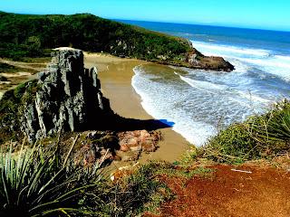 Praia da Guarita, em Torres