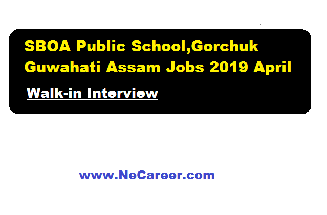 8b1004d2436 According to SBOA Public school recruitment in April 2019, applications are  invited for filling up various posts.