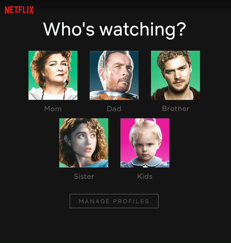 These are the new Netflix profile icons