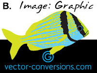 vector graphic for large format printing