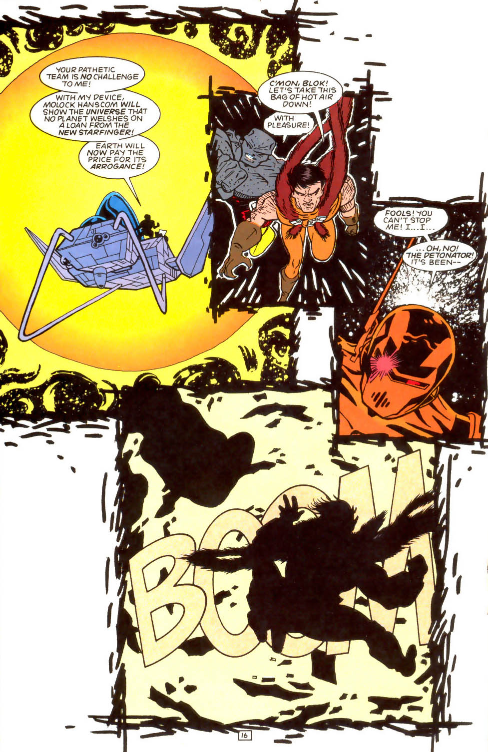 Legion of Super-Heroes (1989) 52 Page 16