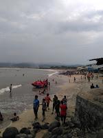 wisata pantai  santolo Garut