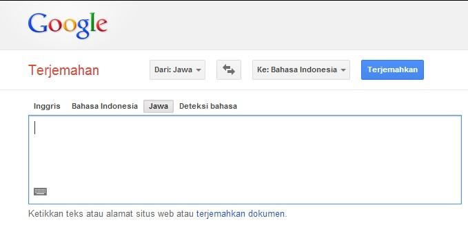 Update Terbaru Google Translate Bahasa Jawa to Indonesia ...