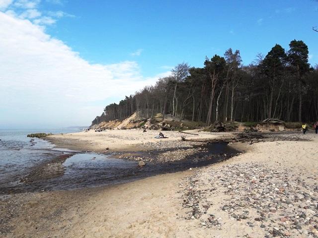 plaża w Orzechowie