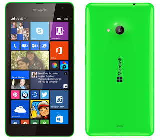 The network got photos and specifications Microsoft Lumia 535