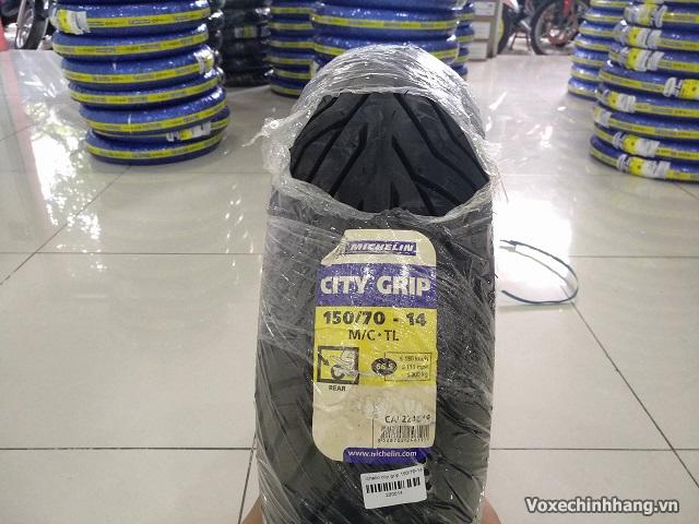 Vỏ xe máy Michelin City Grip 150/70-14