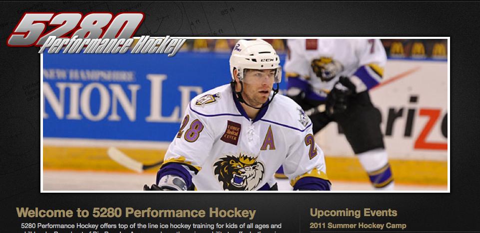 LetsGoDU  Gabe Gauthier Launches 5280 Performance Hockey 530b449c8
