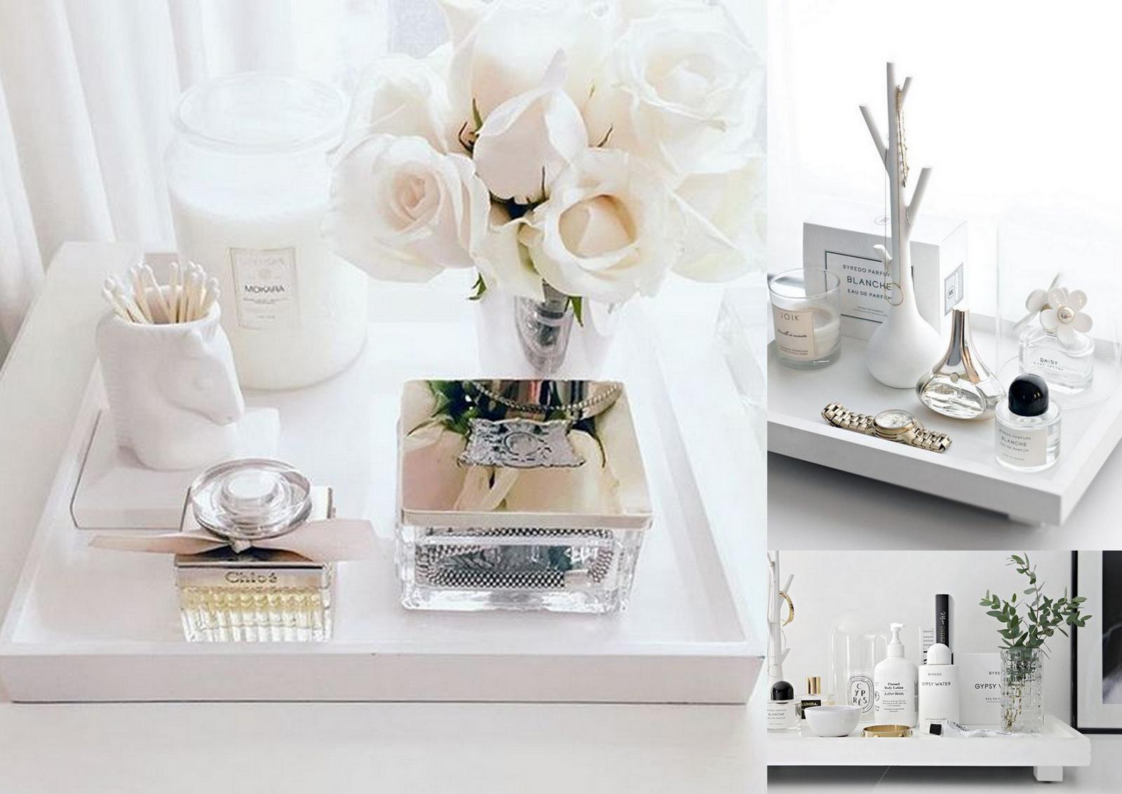 DIY:  vyrob si biely podnos nie len na fotenie kozmetických produktov