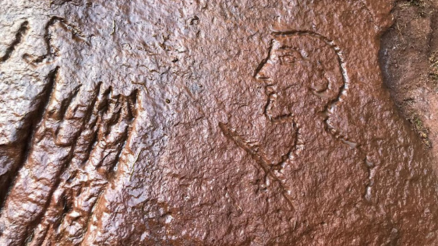Roman soldiers' graffiti at Hadrian's Wall quarry to be recorded