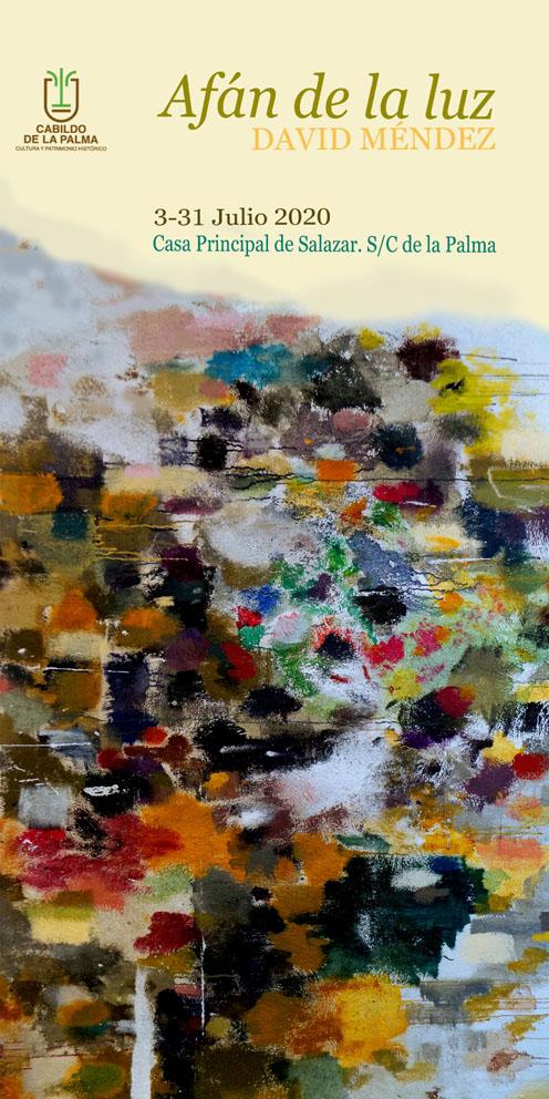 El Cabildo presenta la exposición retrospectiva 'Afán de Luz' del pintor palmero David Méndez