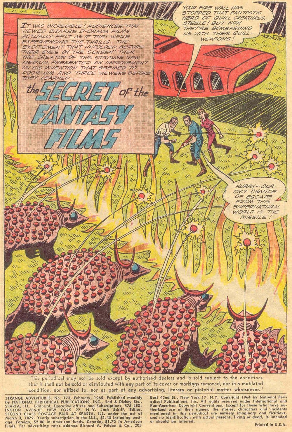 Strange Adventures (1950) issue 173 - Page 3