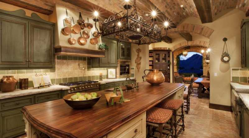 ... Have European Style Kitchen With Mainly A French Style, Maybe You Are  One Of Them, Most Experts Interior Design Agreed French Rustic Kitchen Is  The One ...