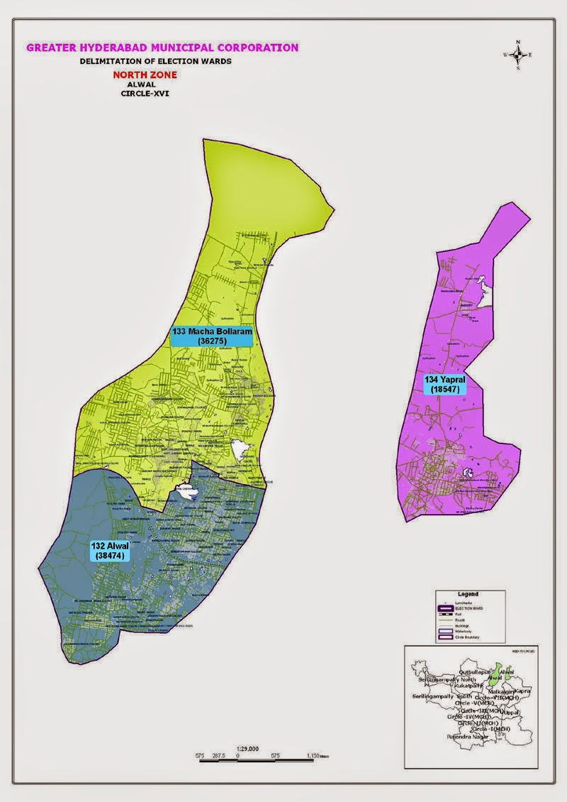 GHMC Circle 16 Map
