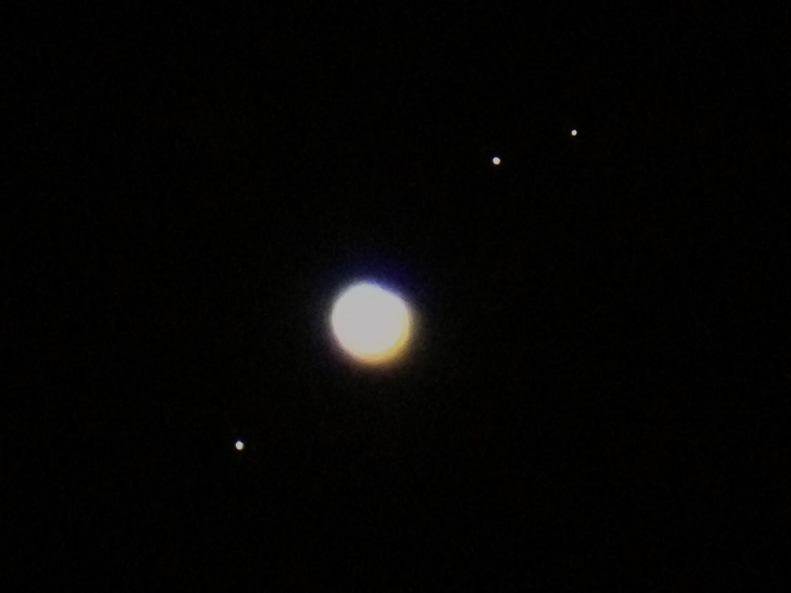 jupiter and moons through telescope - photo #1