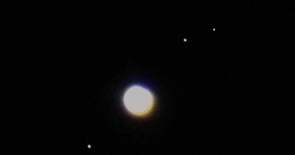 jupiter and moons through telescope - photo #2