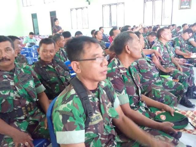 Sosialisasi Pelayanan Perbankan Bagi Prajurit TNI Kodim 0809/Kediri