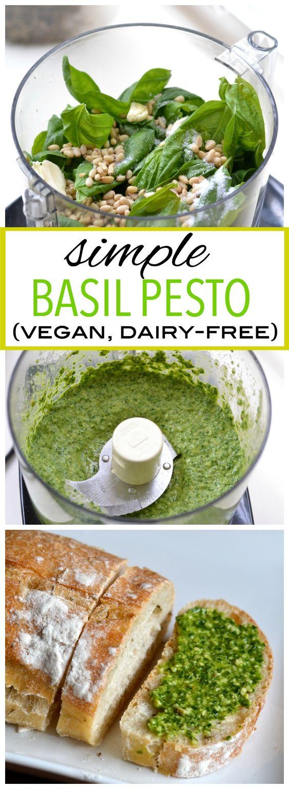 Simple Basil Pesto | CUCINA DE YUNG