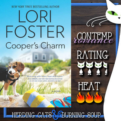 3.5 stars-- Cooper's Charm (Love at the Resort #1) by Lori Foster