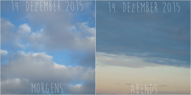 Blog + Fotografie by it's me! - Himmel am 14.12.2015
