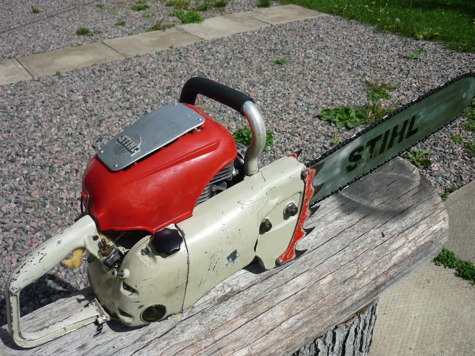 Antique Stihl Chainsaw Related Keywords & Suggestions - Antique