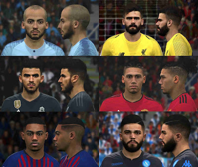 PES 2017 Facepack February 2019 By BenHussam Facemaker
