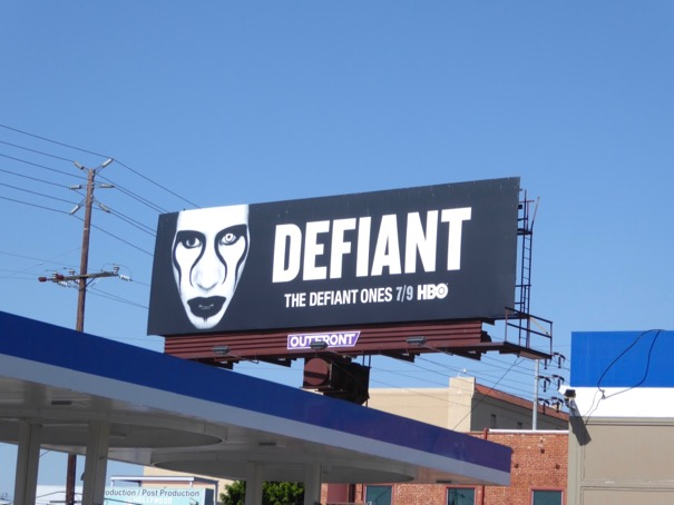 Defiant Marilyn Manson billboar