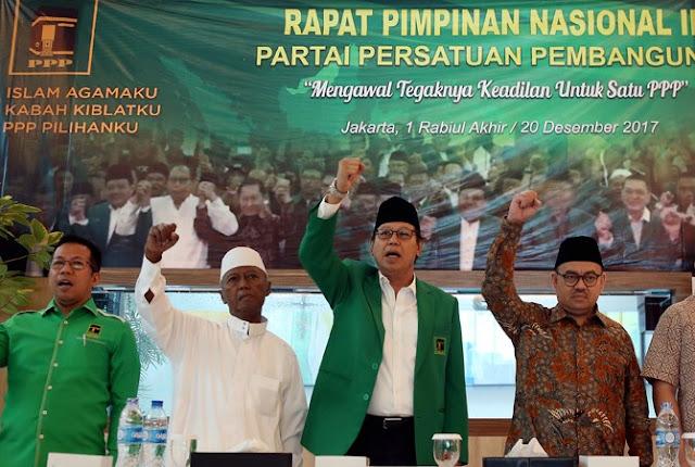 Teriakan Boikot Jokowi Menggema di Rapimnas PPP Djan Faridz