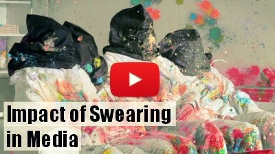 Watch how swearing in media can affect your family via geniushowto.blogspot.com social videos