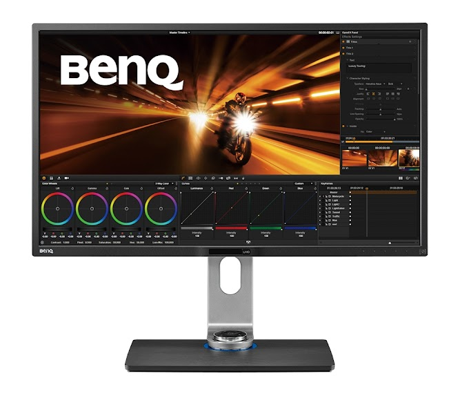 BenQ Reveals the PV Series Video Post-Production Monitors