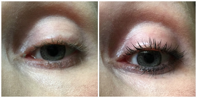 before and after primark ps... maxi and mini lash mascara