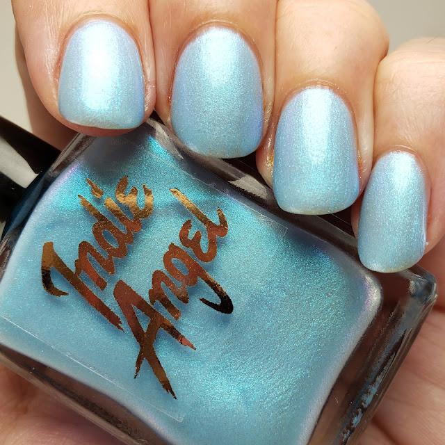 indie angel, shopindieangeletsy, indie polish, indie lacquer, handmade, nail polish, iris, myrtle, ghost78
